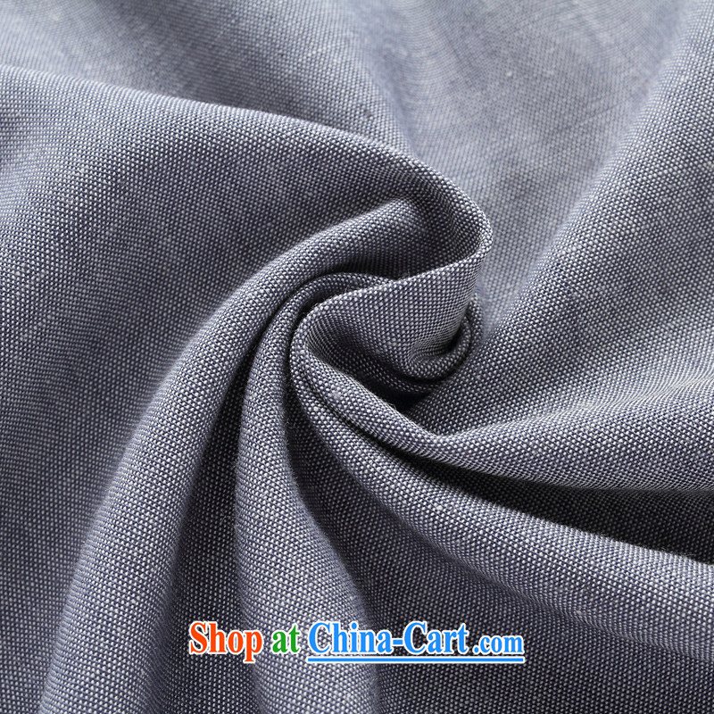 Tang is the short sleeve T-shirt with new summer, men's cotton The tang on the older Chinese short-sleeve father replace D 282 dark gray package L, JACK EVIS, shopping on the Internet