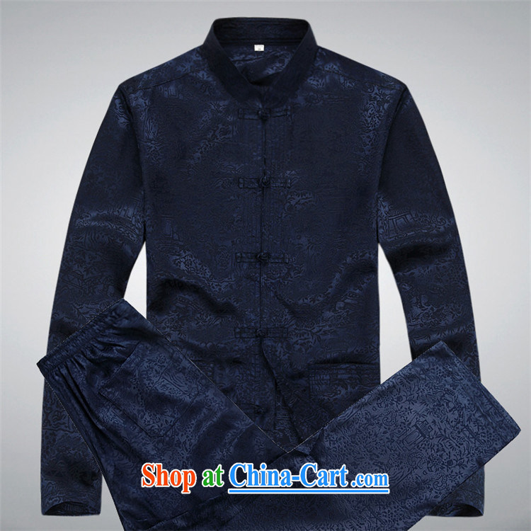 The chestnut mouse men and Chinese men's long-sleeved jacket Kit Chinese style Chinese large, Han-practitioners serving casual white package XXXL pictures, price, brand platters! Elections are good character, the national distribution, so why buy now enjoy more preferential! Health