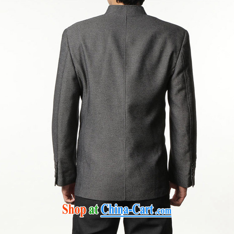 Wuwing/move wing Prince smock Chinese Antique Chinese Spring and Autumn and new men's wool nickname, who wore smock jacket retro beauty smock smock-jy Black Gray 56 recommendations 180 200 Jack jack, wing Prince (WUWING), online shopping