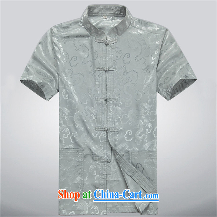 The summer, new Chinese men short-sleeve kit, older persons, served men's kit beige Kit XXXL pictures, price, brand platters! Elections are good character, the national distribution, so why buy now enjoy more preferential! Health