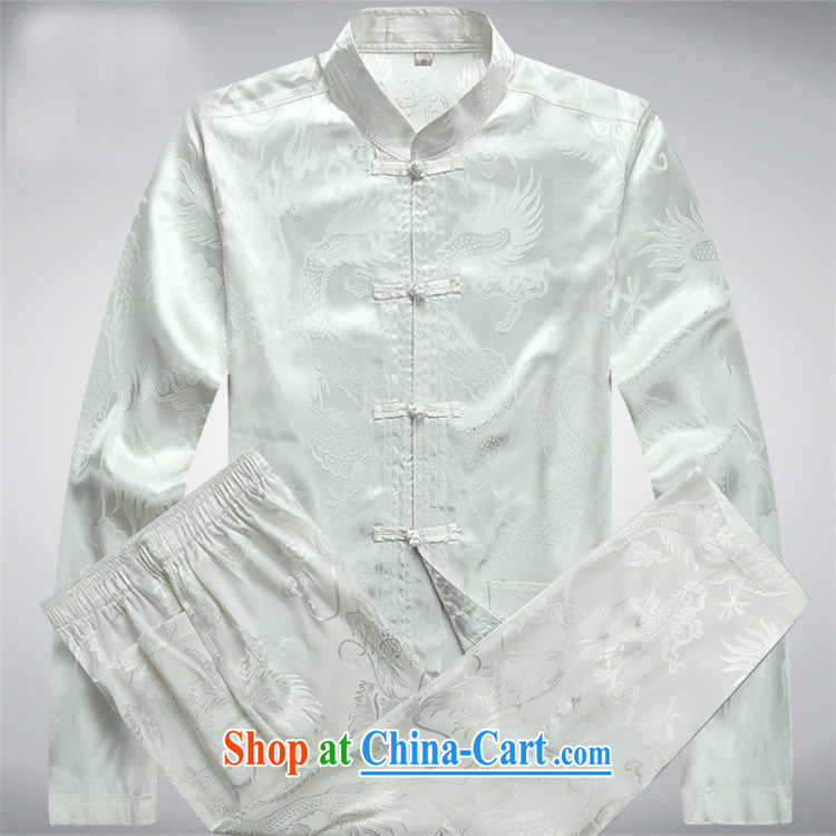 Kim Jong-il chestnut mouse spring loaded men Tang replace Kit long-sleeved Kit Chinese dress, older Tang Blue Kit XXXL pictures, price, brand platters! Elections are good character, the national distribution, so why buy now enjoy more preferential! Health