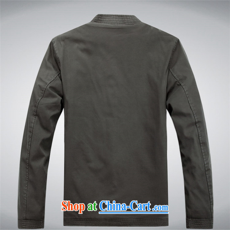 The chestnut mouse male Chinese jacket cotton, in older men's casual jacket dark gray XXXL pictures, price, brand platters! Elections are good character, the national distribution, so why buy now enjoy more preferential! Health