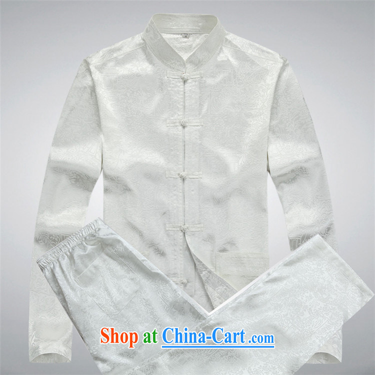 The Beijing Spring and replace older persons in male Chinese long-sleeved kit shirt spring, served the elderly grandparents summer Blue Kit XXXL pictures, price, brand platters! Elections are good character, the national distribution, so why buy now enjoy more preferential! Health