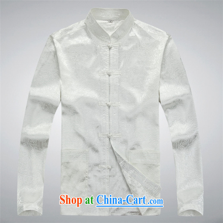The chestnut mouse spring and summer new, older men's long-sleeved Tang replacing kit spring and summer with his father the Man ethnic wind Han-Blue Kit XXXL pictures, price, brand platters! Elections are good character, the national distribution, so why buy now enjoy more preferential! Health