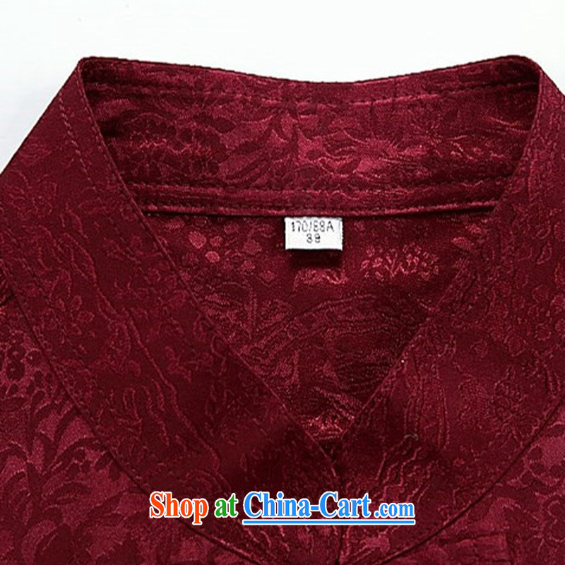 The chestnut mouse spring and summer new, older men's long-sleeved Tang replace Kit spring and summer with his father the Man ethnic wind Han-Blue Kit XXXL, the chestnut mouse (JINLISHU), shopping on the Internet