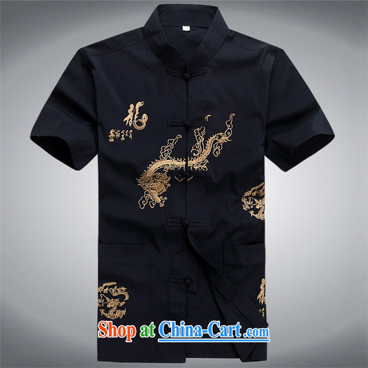 Putin's European men's short-sleeved, older Chinese summer older persons summer China wind men Tang replace Kit beige Kit XXXL pictures, price, brand platters! Elections are good character, the national distribution, so why buy now enjoy more preferential! Health
