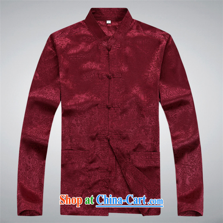 Putin's European Summer men's Tang is set long-sleeved older people in China's Ethnic clothing, for Chinese clothes T-shirt white package XXXL pictures, price, brand platters! Elections are good character, the national distribution, so why buy now enjoy more preferential! Health