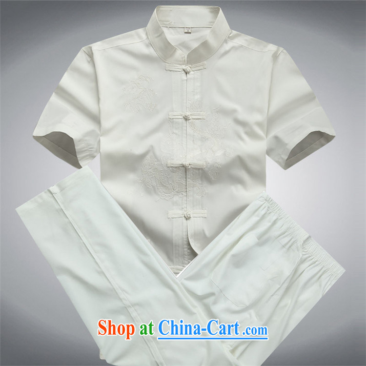 The chestnut Mouse middle-aged and older Chinese package short-sleeved shirts, older men's father with summer T-shirt pants dark blue Kit XXXL pictures, price, brand platters! Elections are good character, the national distribution, so why buy now enjoy more preferential! Health