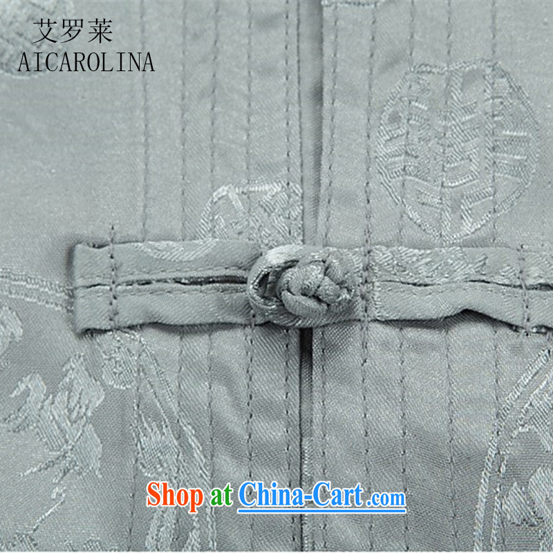 The Spring and Autumn Period, new, older long-sleeved Chinese package men, for Chinese father replacing Tang with beige Kit XXXL, the Tony Blair (AICAROLINA), online shopping