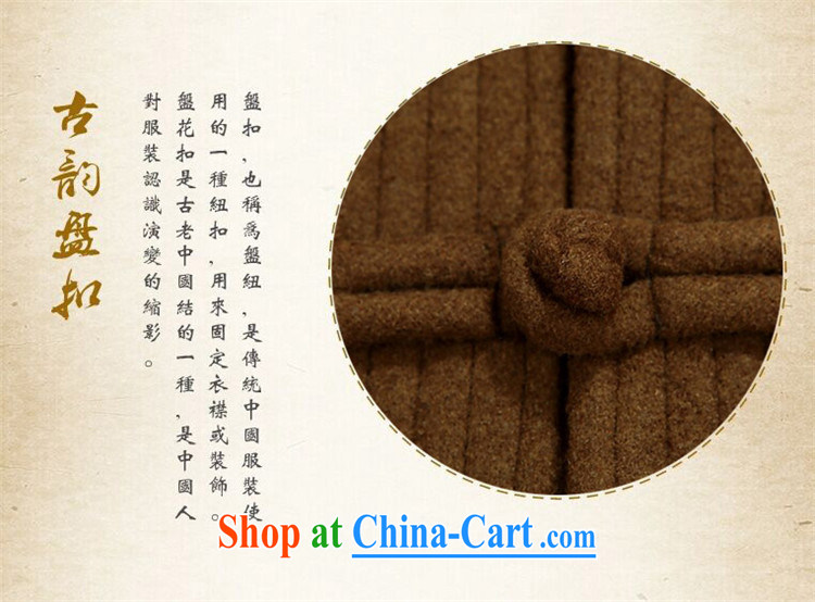 The Luo, spring and fall, old men do the Chinese father's grandfather is Chinese, neck jacket and yellow XXXL pictures, price, brand platters! Elections are good character, the national distribution, so why buy now enjoy more preferential! Health