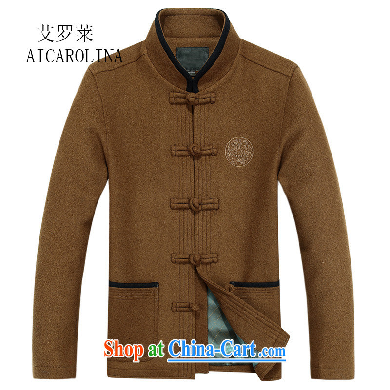 The Luo, spring and fall, old men do the Chinese father's grandfather is Chinese, neck jacket and yellow XXXL, AIDS, Tony Blair (AICAROLINA), shopping on the Internet