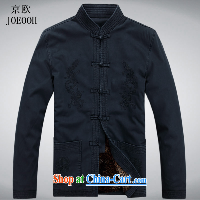 Putin's Europe in the new and old men Chinese winter clothing long-sleeved thick father Chinese older quilted coat jacket Tang fitted parka brigades