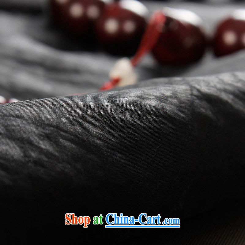 the Lhoba people, evergreens 100 % silk fragrant cloud yarn boy short-sleeved Chinese men and elderly people's congress, Chinese men's summer sauna silk Chinese father black L, the Lhoba people, evergreens (B . L . WEIMAN), and, on-line shopping