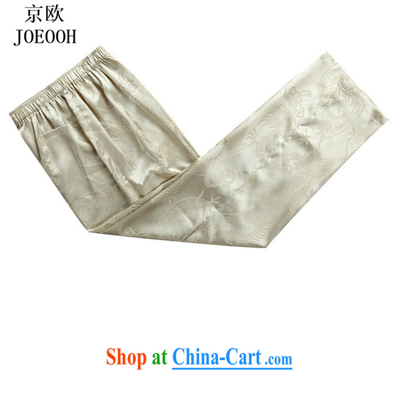 Vladimir Putin in the older Chinese men and short sleeve with new summer, older men Tang load package older persons with short summer birthday gold package XXXL, Beijing (JOE OOH), online shopping