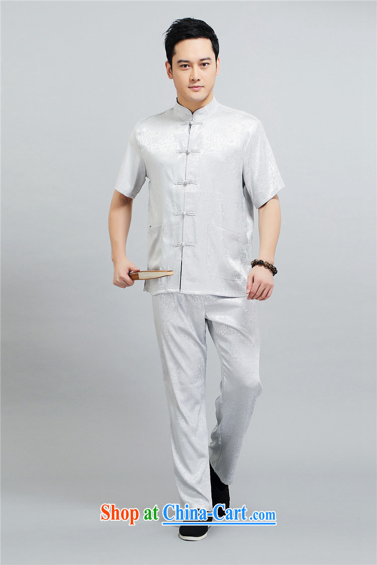 The Honorable Henry Tang, the male summer, older men's T-shirt with short sleeves, for men's shirts Chinese China Blue 4 XL pictures, price, brand platters! Elections are good character, the national distribution, so why buy now enjoy more preferential! Health