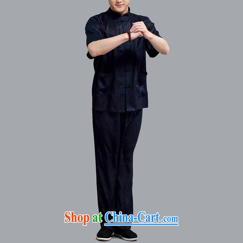 The Honorable Henry TANG, replacing men and Mr Ronald ARCULLI in older men's T-shirt with short sleeves, for men's shirts tang on China wind blue 4 XL, the Tony Blair (AICAROLINA), shopping on the Internet