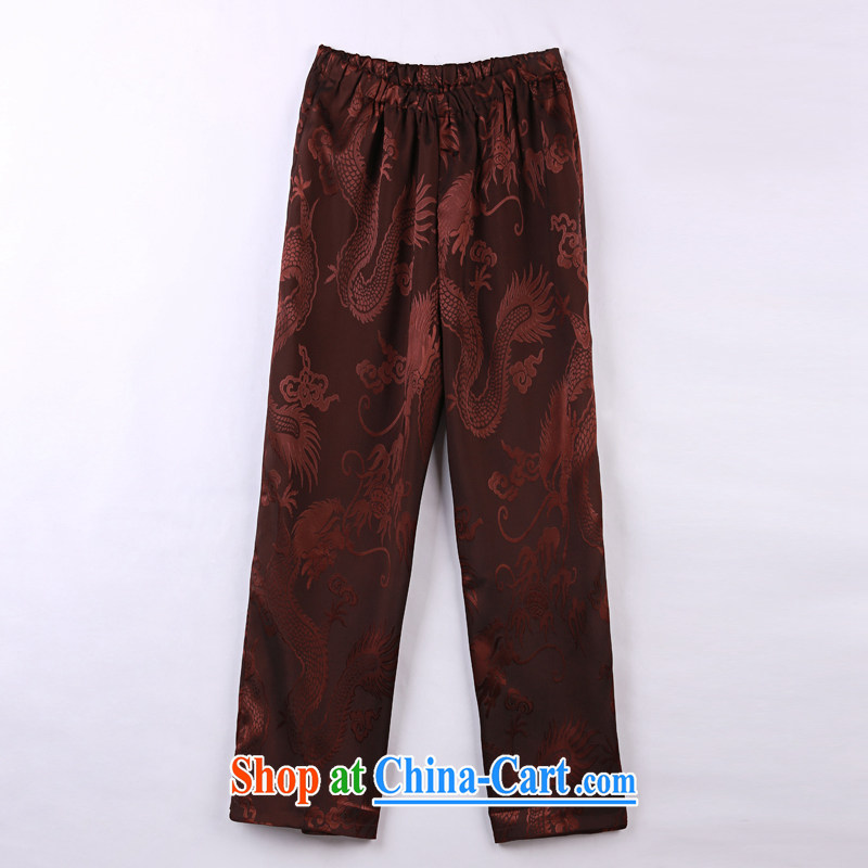 2015 spring and summer with new products, the BMW China wind Chinese pants older short pants 11 mauve XXXXL