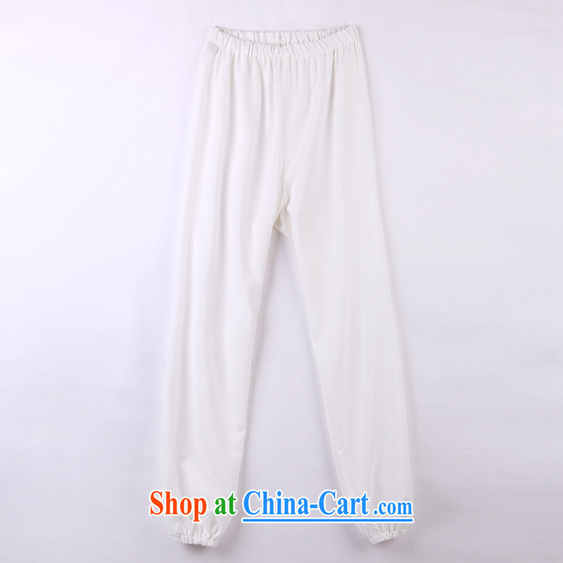 2015 spring and summer with new products, the BMW China wind Chinese pants older short pants 12 white XXXXL