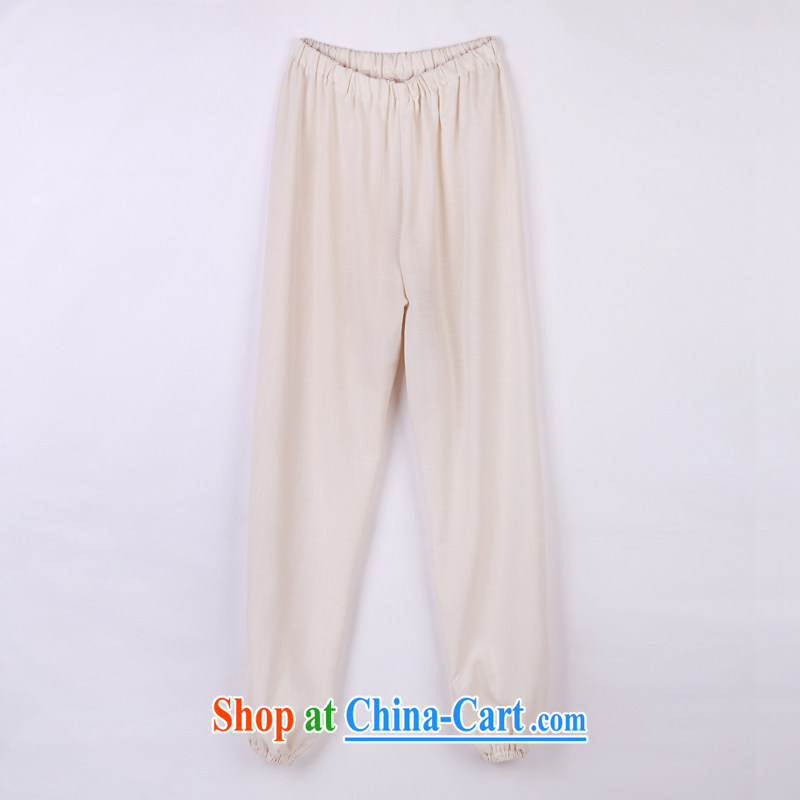 2015 spring and summer with new products, the Po-china wind Tang fitted pants, old Tang pants 13 meat color XXXXL, federal core Chai, who, on-line shopping