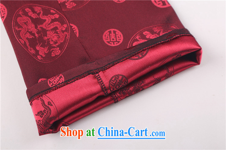 The 2015, new Chinese men's long-sleeved Kit Chinese male Chinese wind older Chinese package gold 4 XL pictures, price, brand platters! Elections are good character, the national distribution, so why buy now enjoy more preferential! Health