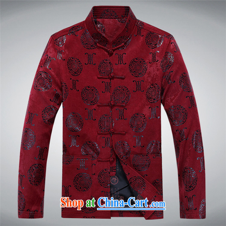 The spring, male Tang with long-sleeved T-shirt, elderly Chinese men and the charge-back older persons long-sleeved Tang jackets men's Uhlans on XXXL pictures, price, brand platters! Elections are good character, the national distribution, so why buy now enjoy more preferential! Health
