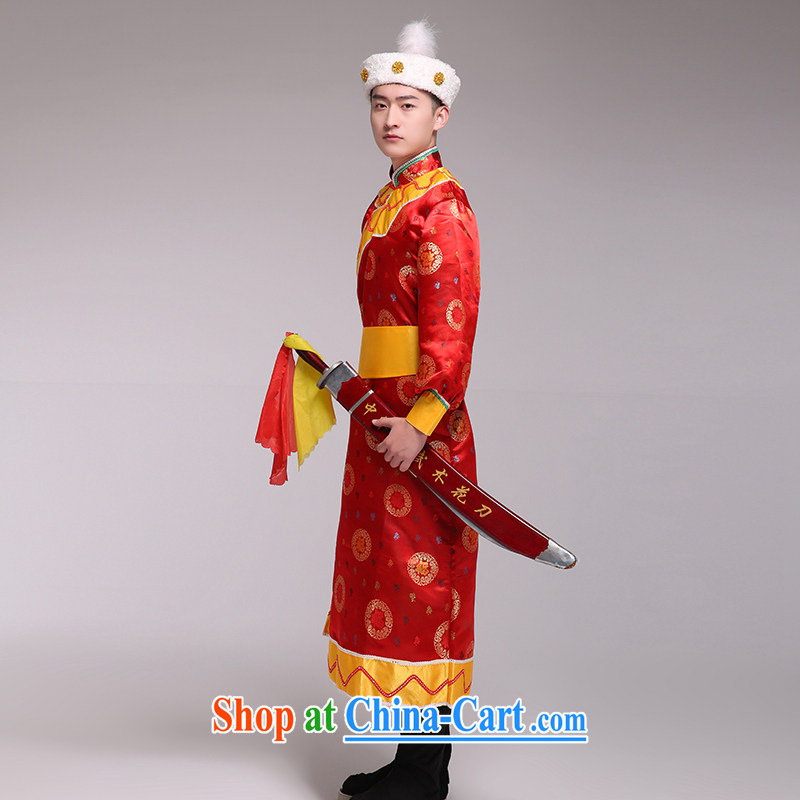 Ethnic minority clothing Mongolian dress Mongolia clothing costumes dance and theater