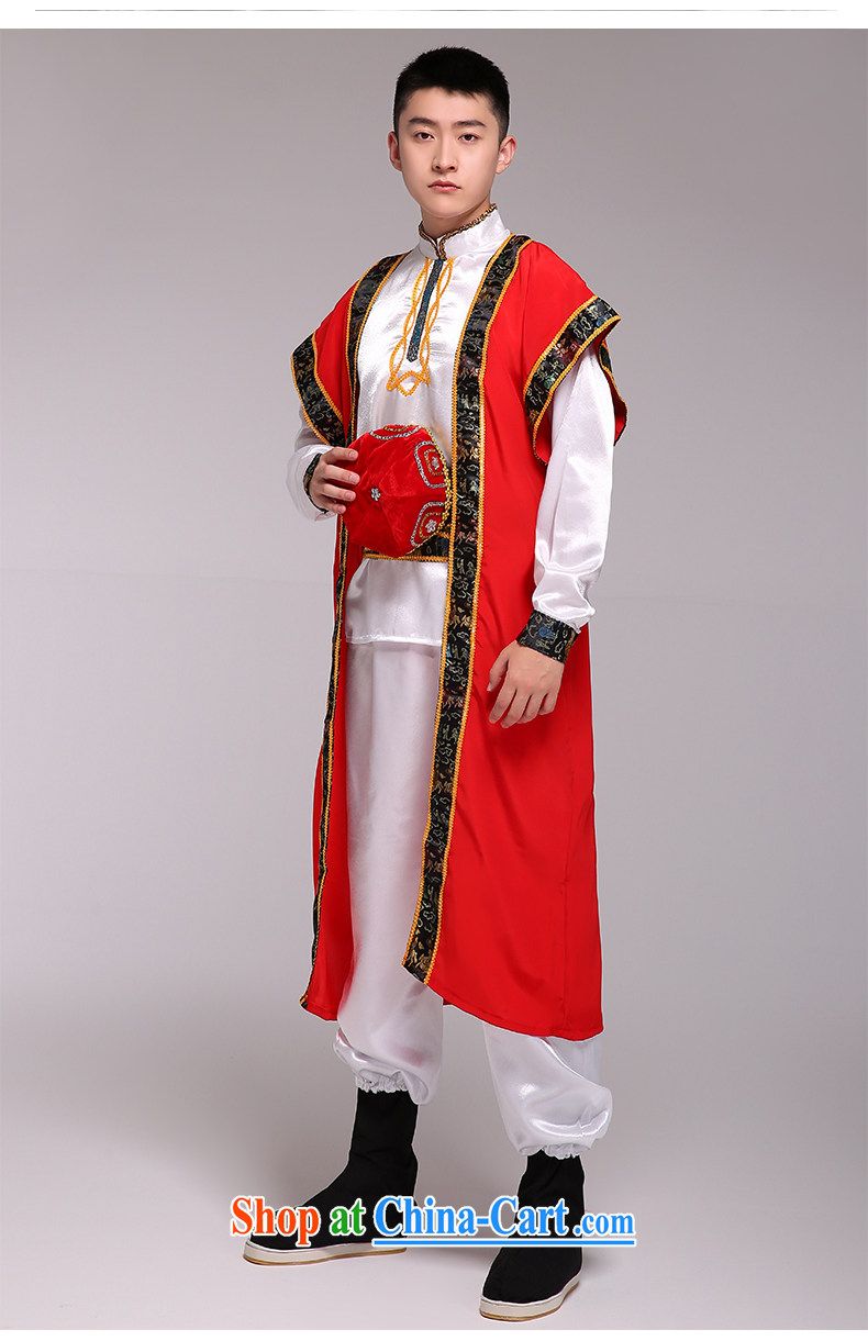 Xinjiang Dance costumes men and Xinjiang ethnic performances stage serving the ethnic performances serve as figure are code pictures, price, brand platters! Elections are good character, the national distribution, so why buy now enjoy more preferential! Health