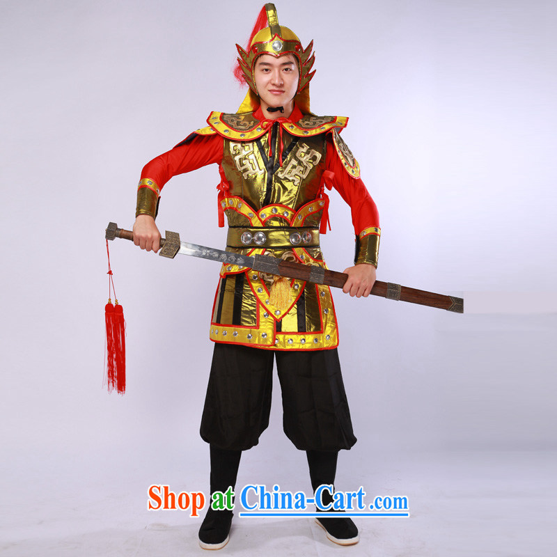 Costumes uniform Stage service videos Terra Cotta Warriors armour small soldiers and their performance as XL