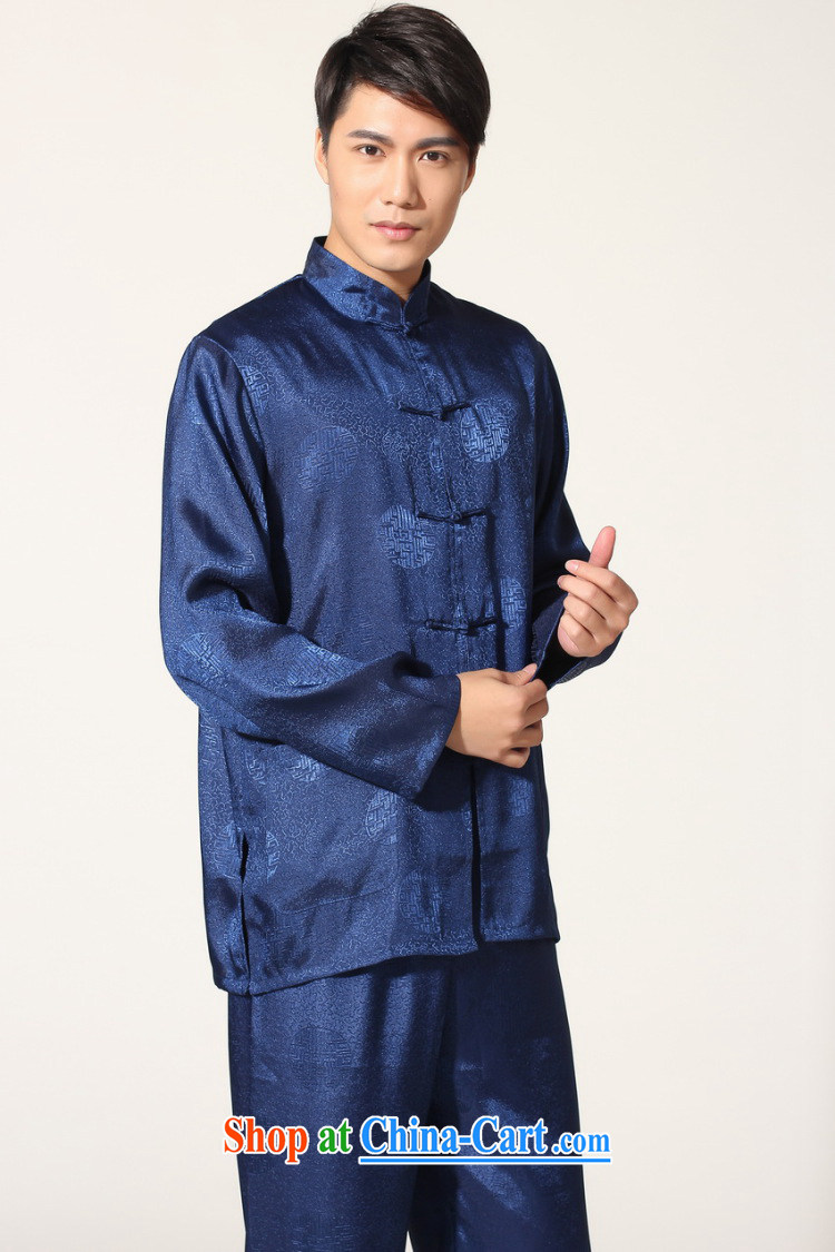 And Jing Ge older Chinese men and summer, for silk men's long-sleeved Kit larger male martial arts Package - A black XXXL pictures, price, brand platters! Elections are good character, the national distribution, so why buy now enjoy more preferential! Health