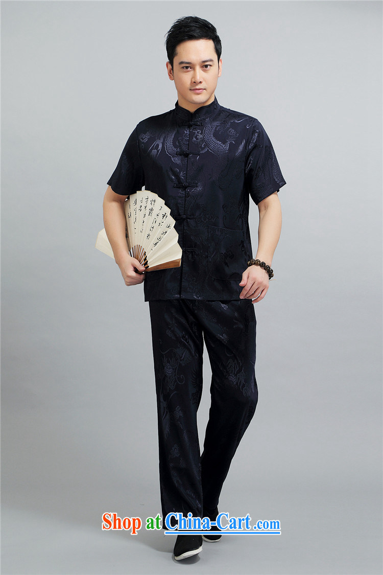 The summer, men, older short-sleeve Tang package installed and older persons leisure Chinese men's father is the red 4 XL/190 pictures, price, brand platters! Elections are good character, the national distribution, so why buy now enjoy more preferential! Health