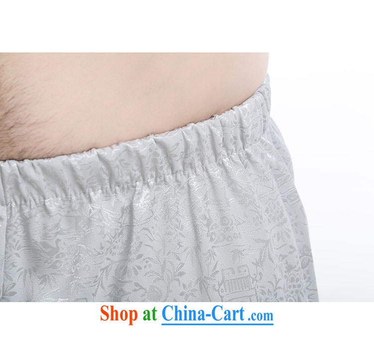 100 brigade Bailv summer stylish thin disk for casual, short-sleeved comfortable elasticated trousers men's kit light gray 190 pictures, price, brand platters! Elections are good character, the national distribution, so why buy now enjoy more preferential! Health