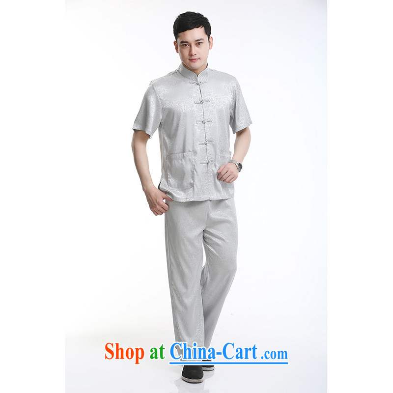 100 brigade Bailv summer stylish thin disk for casual, short-sleeved comfortable elasticated trousers men's kit light gray 190,100 brigade (Bailv), and, on-line shopping