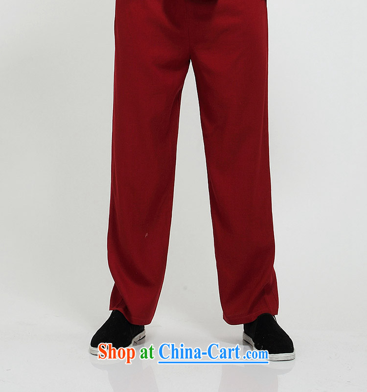 100 brigade Bailv summer stylish thin disk for casual, short-sleeved comfortable elasticated trousers men's package deep red 190 pictures, price, brand platters! Elections are good character, the national distribution, so why buy now enjoy more preferential! Health