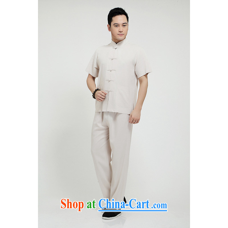 100 brigade Bailv summer stylish thin disk for casual, short-sleeved comfortable elasticated trousers men's package white 190,100 brigade (Bailv), online shopping