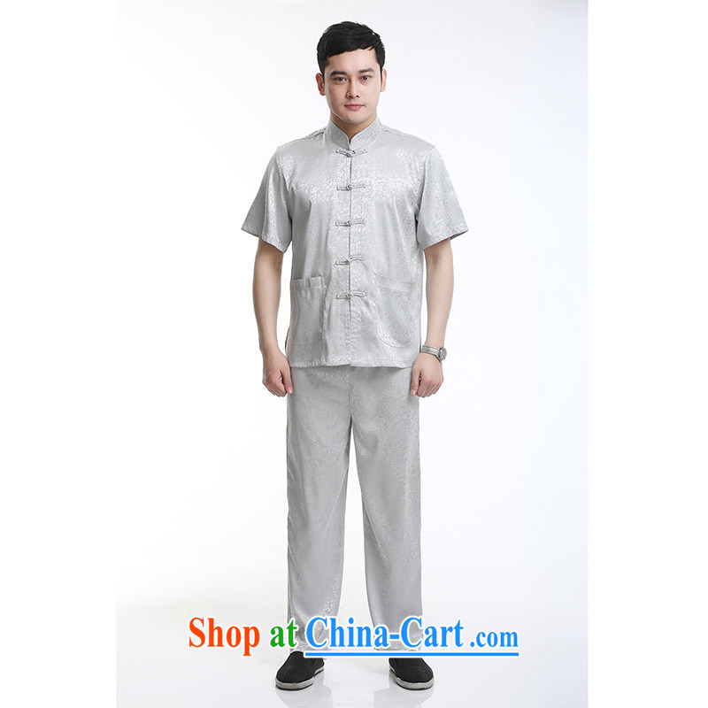 100 brigade Bailv summer stylish thin disk for casual, short-sleeved comfortable elasticated trousers men's kit