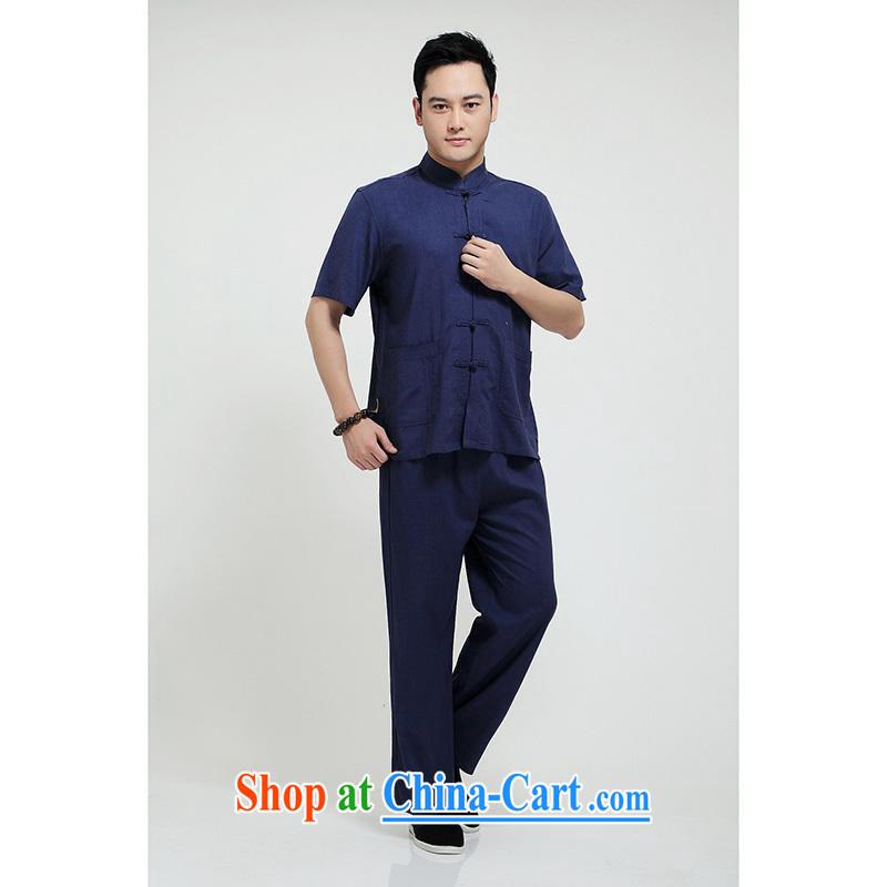 100 brigade Bailv summer stylish thin disk for casual, short-sleeved comfortable elasticated trousers men's kit dark blue 190, oak Hill city sprawl (shine mainceteam), online shopping