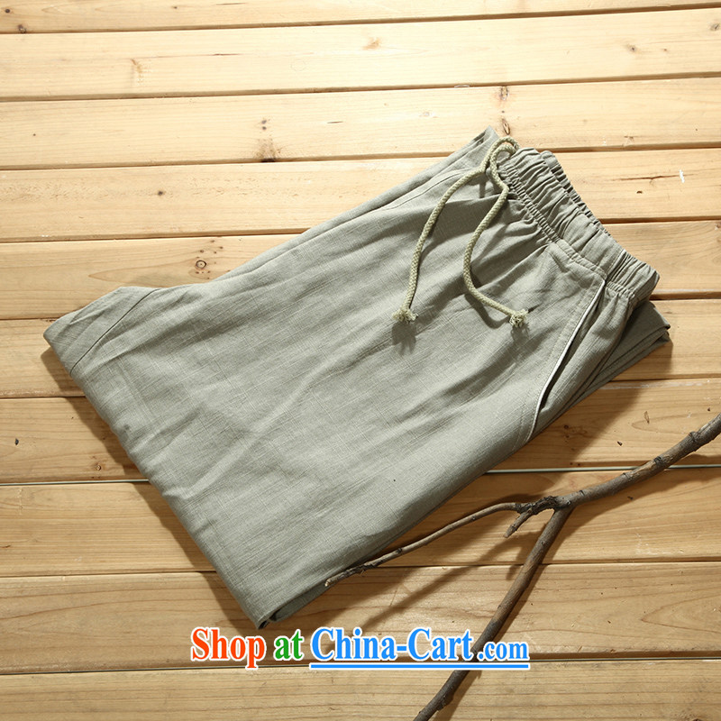 Tibetan swords into plowshares men's summer Chinese cotton the trousers card its 156,003 180_XL