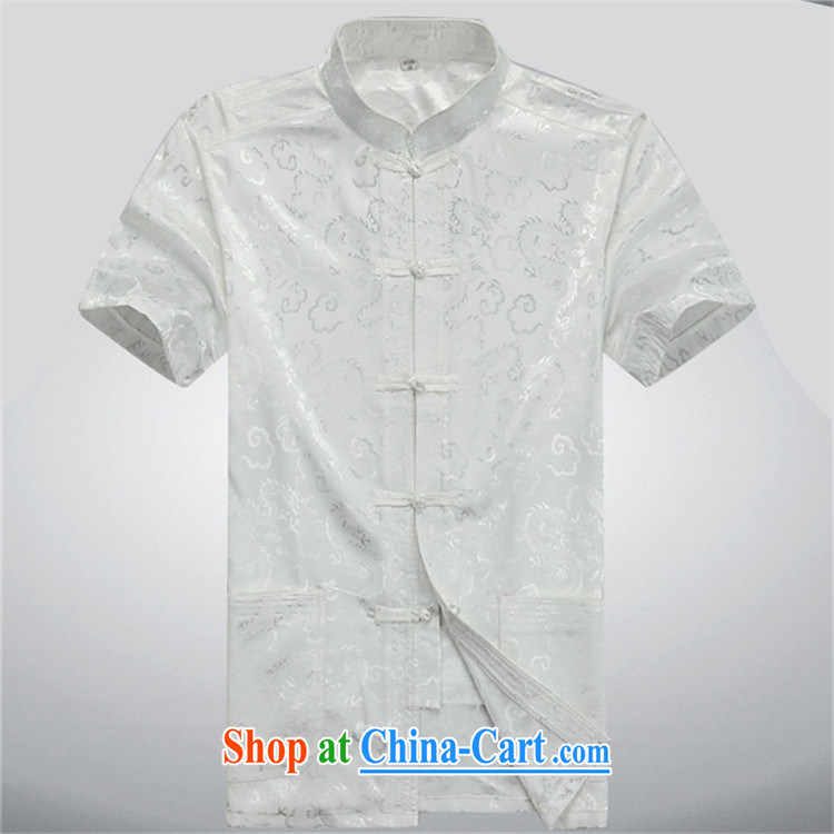 The poppy in the older Chinese men and Chinese wind father with Chinese summer men short-sleeve Chinese men and package Chinese gray cyan package XXXL pictures, price, brand platters! Elections are good character, the national distribution, so why buy now enjoy more preferential! Health