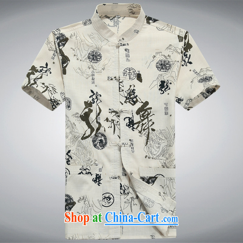 100 brigade Bailv summer stylish thin disk for leisure short-sleeve and collar comfortable flower shirt black XXXL
