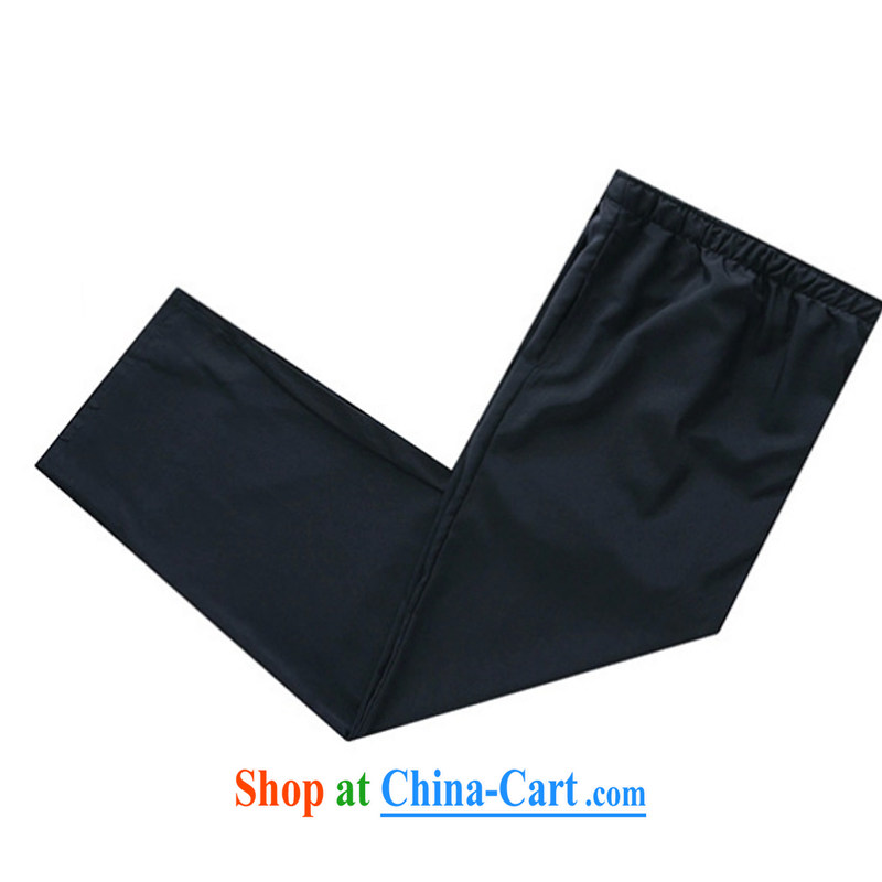 2015 new smock Tang replace summer father pants pants men's national wind trousers YYY 1259 YZ XXXL Cornhusk yellow spring, the Latitude, and shopping on the Internet