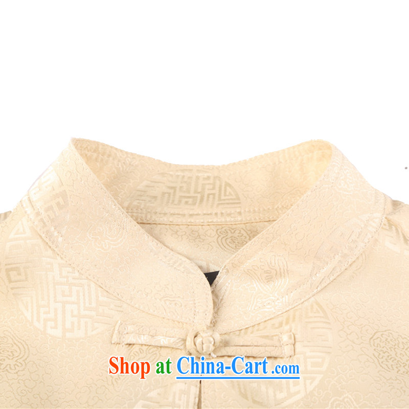 kyung-ho summer covered by men Chinese men's short-sleeve kit, old cotton Shuxin, served his father's grandfather on China wind white 4XL, Beijing-ho (JOE HOHAM), online shopping