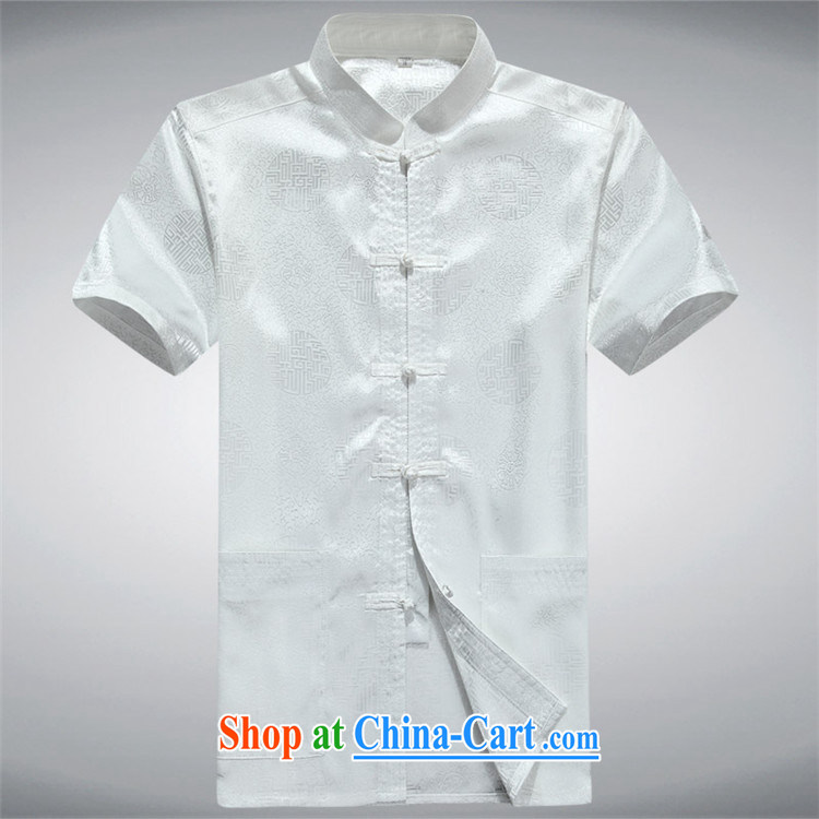 Putin's European Summer male, short-sleeved Chinese Han-short-sleeved, older Chinese men's short-sleeved white XXXL pictures, price, brand platters! Elections are good character, the national distribution, so why buy now enjoy more preferential! Health