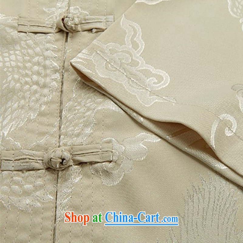 The chestnut mouse summer new middle-aged and older Chinese men and Chinese men's short-sleeve packaged the code Tang package Black Kit XXXL, the chestnut mouse (JINLISHU), shopping on the Internet