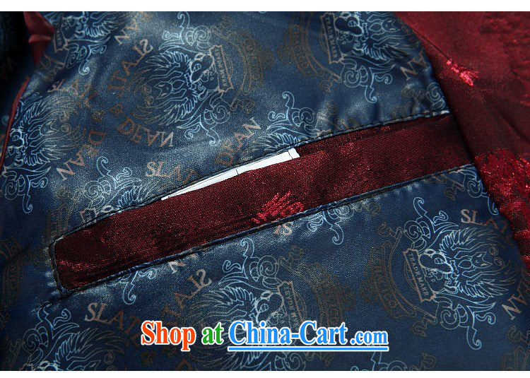 The chestnut mouse China wind spring new Chinese men and Chinese father jackets, older well field Tang red T-shirt XXXL pictures, price, brand platters! Elections are good character, the national distribution, so why buy now enjoy more preferential! Health