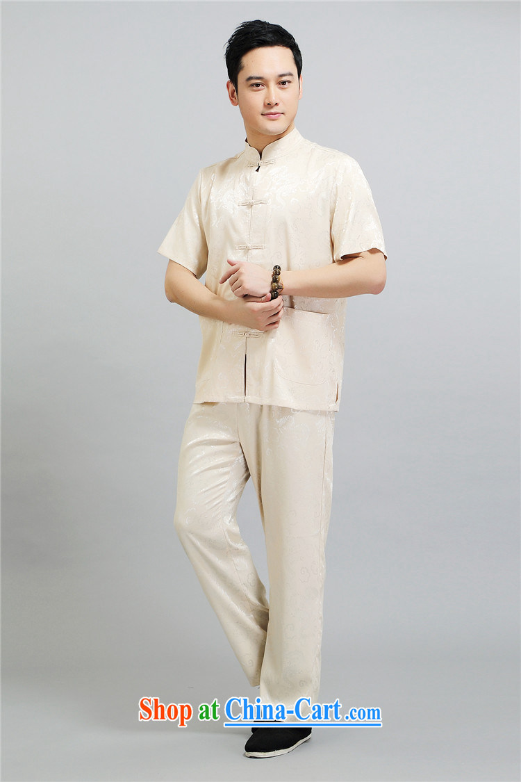 kyung-ho summer covered by new middle-aged and older men Tang replace short-sleeved morning exercise clothing Tai Chi exercises his father's grandfather is white 4 XL pictures, price, brand platters! Elections are good character, the national distribution, so why buy now enjoy more preferential! Health