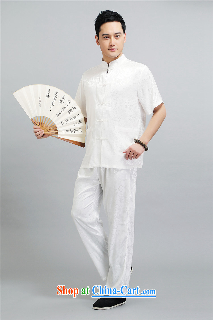 kyung-ho summer covered by new middle-aged and older men Tang with a short-sleeved morning exercise clothing Tai Chi exercises his father's grandfather boxed kit light gray 4 XL pictures, price, brand platters! Elections are good character, the national distribution, so why buy now enjoy more preferential! Health