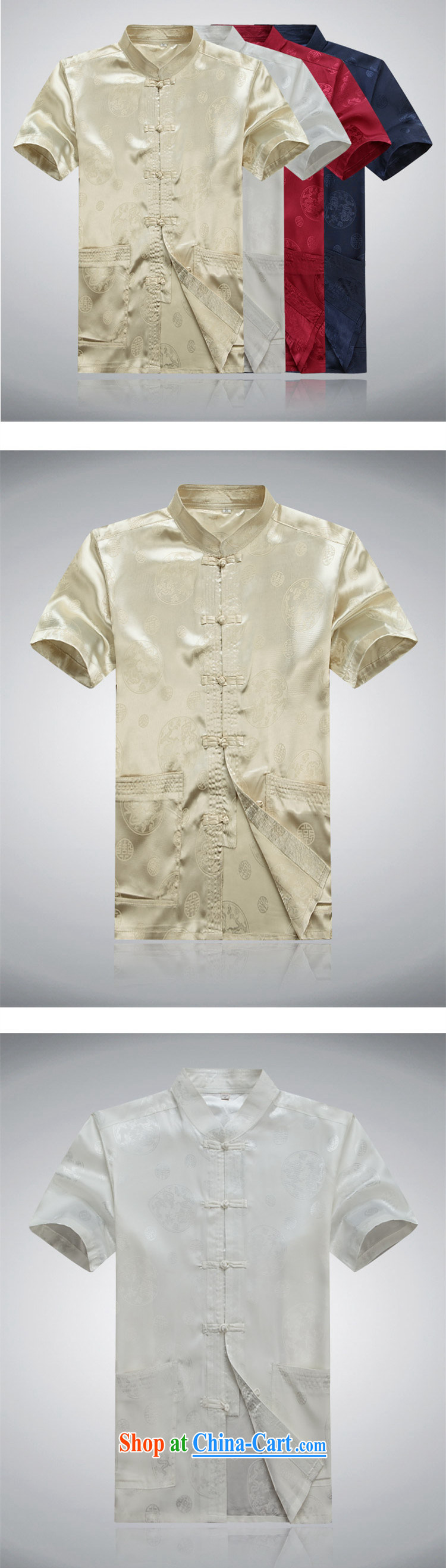 extravagance, 2015 Chinese men's short-sleeve Chinese leisure middle-aged men Chinese men's Summer for the National Men's Silk short-sleeved hand-tie China wind, served white Kit 190 / 56 pictures, price, brand platters! Elections are good character, the national distribution, so why buy now enjoy more preferential! Health