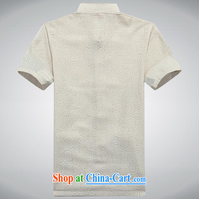 100 brigade BaiLv summer stylish thin, for comfortable short-sleeved-buckle Casual Shirt light yellow 180,100 brigade (Bailv), and, on-line shopping