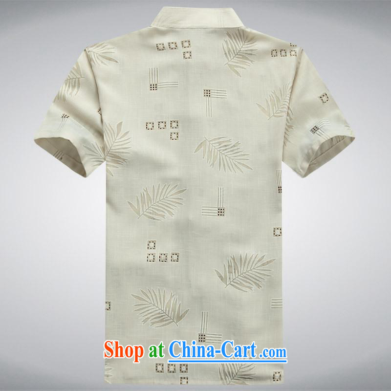 100 brigade BaiLv summer stylish thin, for comfortable short-sleeved-tie Casual Shirt light yellow S, 100 brigade (Bailv), shopping on the Internet