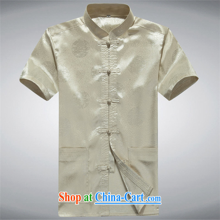 The Beijing Summer New Tang in summer men Tang is short-sleeved, elderly father red XXXL pictures, price, brand platters! Elections are good character, the national distribution, so why buy now enjoy more preferential! Health